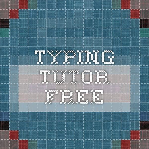 typing tutor free