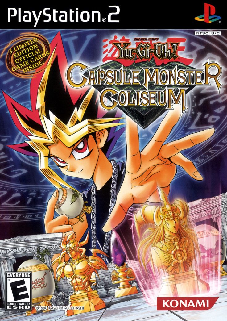 Yu Gi Oh Capsule Monster Coliseum Sony Playstation 2 Game Yugioh Ps2 Games Playstation 2