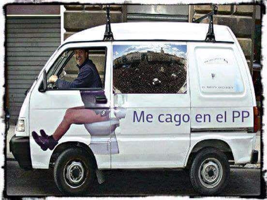Me cago en el PP..... #PP #Rajoy #incompetente #corrupto #corrupcion #España #MarcaEspaña #MarcaEspana #Spain