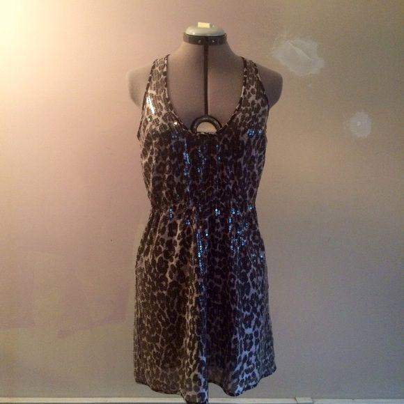 RODARTE for Target ✌️ Animal Print Sequin Dress Great dress. Elastic waist allows a more comfortable fit. No damage. Rodarte Dresses Mini