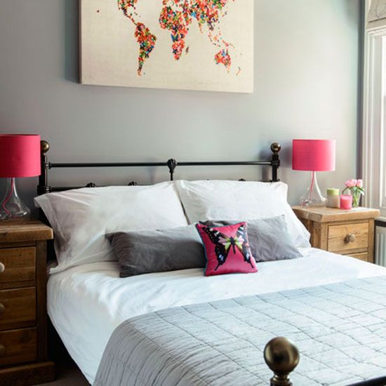 Guest bedroom | Victorian semi in Berkshire | House tour | PHOTO GALLERY | Style at Home | Housetohome.co.uk