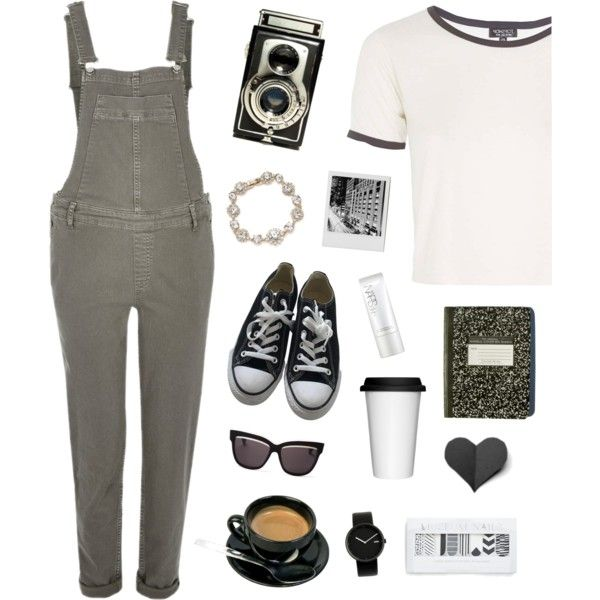 Tricky Trend: Overalls on Polyvore