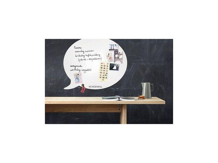 Wonderwall Magneet- en Schrijfbord 'Tekstballon' (large)