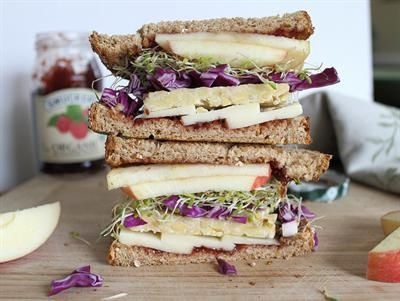 20 Delicious Tempeh Recipes for the Meatless Cook: Tempeh Sandwich