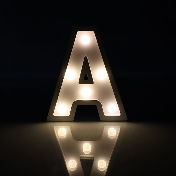 Light Up Led Letter Marquee Alphabet Lights Wedding Party Sign Decor A Alphabet Lighting Alphabet Wallpaper Lettering