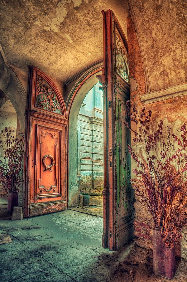 spell of time by PatiMakowska.deviantart.com on @deviantART    - Abandoned Palace (PL) 2013