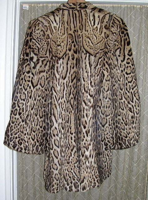Old Fur Coats for Sale | Ocelot Vintage Fur Coat 1960s | Flickr - Photo Sharing!