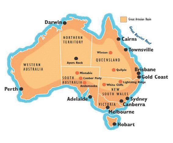 Australian Opal Mining Fields | Opals Down Under