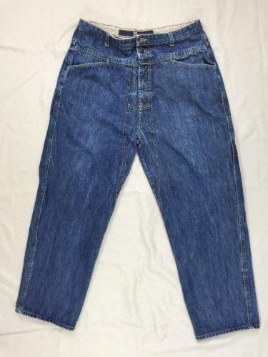 Marithe-Francois-Girbaud-Vintage-Jeans-Baggy-Loose-100-cotton-40-37-x-31-Mens