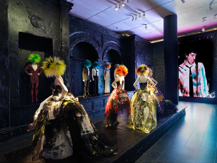 PUNK: Chaos to Couture by Andrew Bolton - Costume Society review. Gorgeous Dolce gowns
