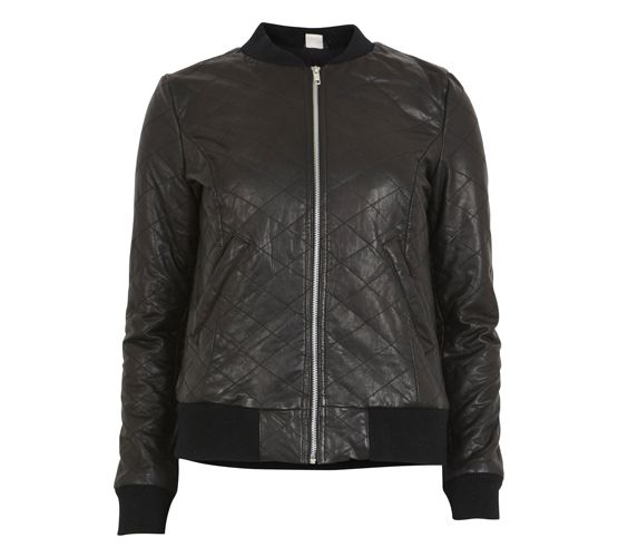 Must leather bomber jacket in Soundvenue.com #objectfashion