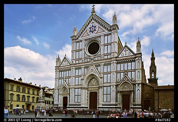 Santa Croce.: Pictures Photo Cathedrals, Pictures Photo Gothic, Picture Photo, Tuscany Italy, Gothic Architecture, Italy Parts, Santa Croce, Photographers Qt, Architecture Style