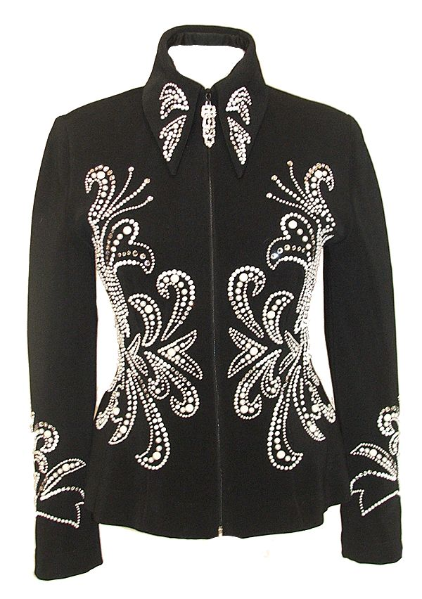 Black Jacket with Pearl Detail :: Horse Show Riding Jackets :: Show Me Again P.s. simple quest for everyone) Why did Bill die?