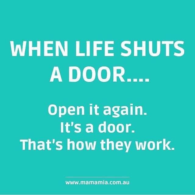 1000 door quotes on pinterest prayer garden barbara for Door quotation