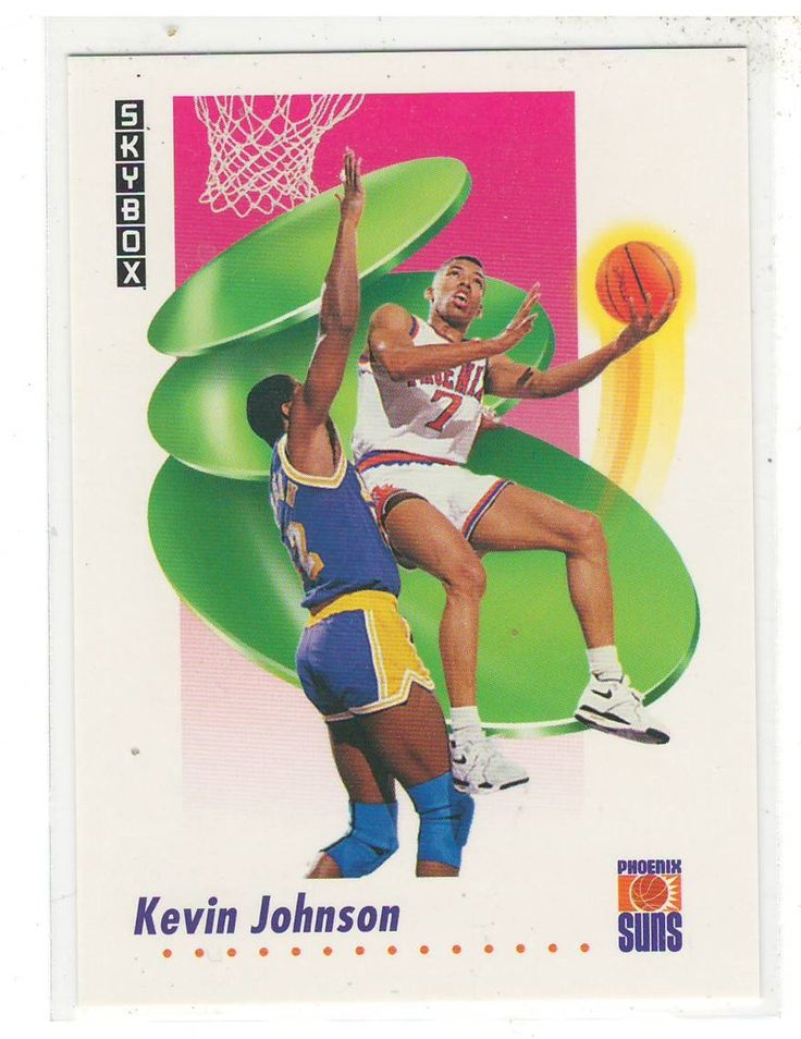 Sports Cards Basketball - 1991 Skybox Kevin Johnson