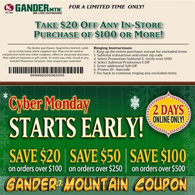 Gander Mountain Coupon