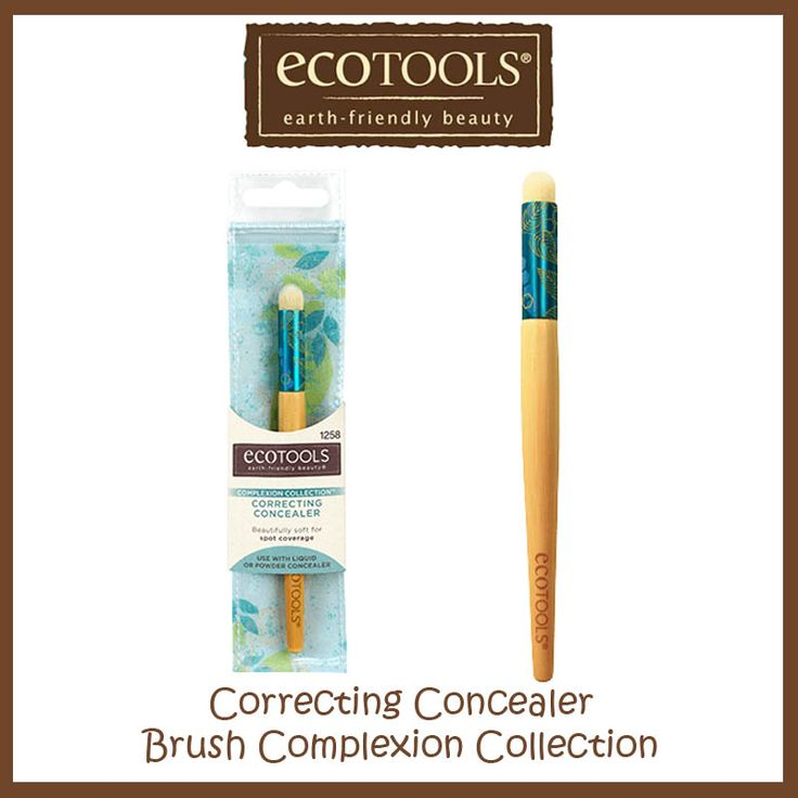 Ecotools Correcting Concealer Brush Complexion Collection