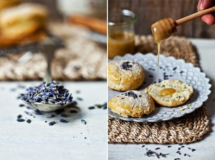 (French recipe) Lavender & Almond Milk Scones | Petit déjeuner en douceur | Scone à la lavande & lait d'amande