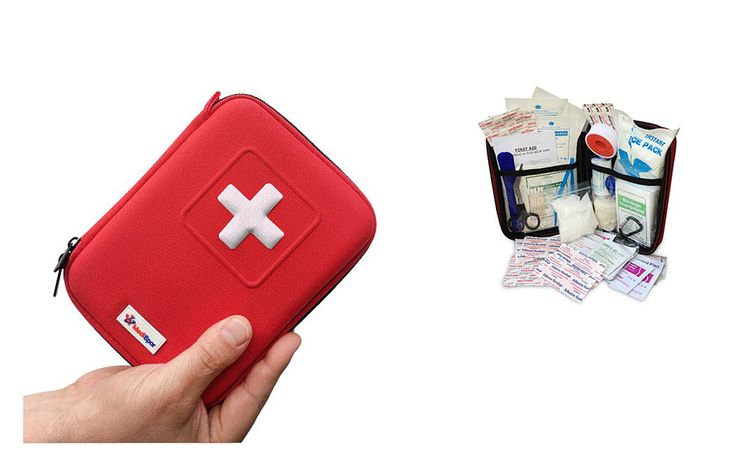 Encased Mini First Aid Kit /// Travel Gear