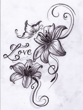 Tiger Lily Flower Tattoos   5933562720_d3a7ae671f_z.jpg