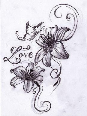 Tiger Lily Flower Tattoos | 5933562720_d3a7ae671f_z.jpg