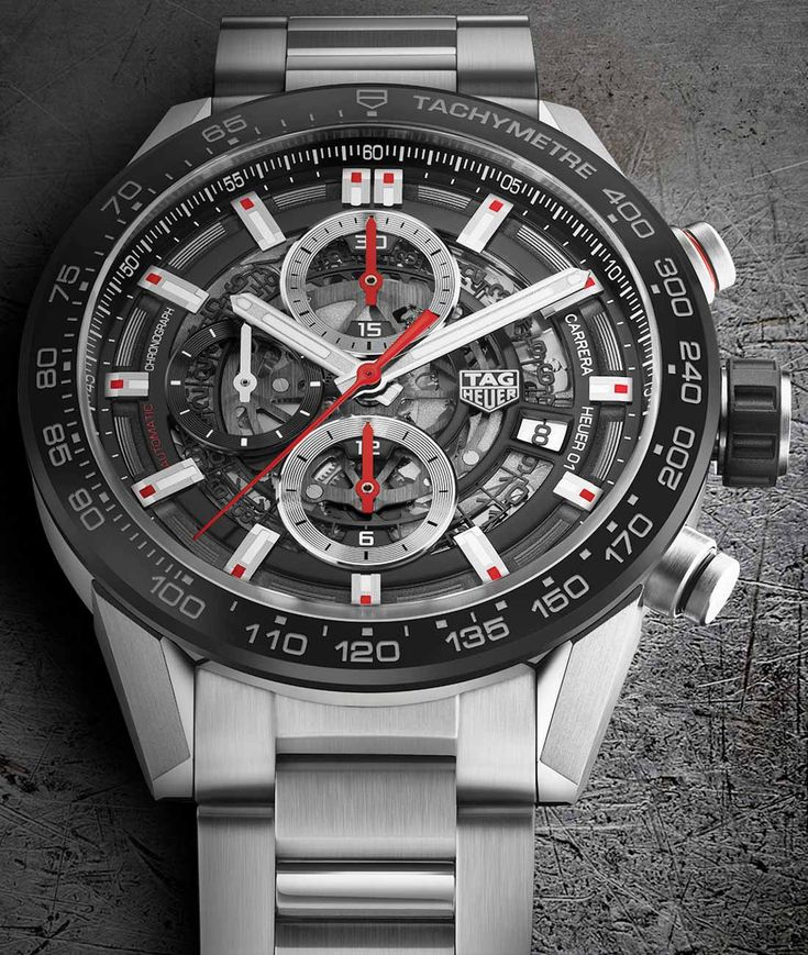 TAG Heuer Carrera Heuer-01 43mm Watches For 2017
