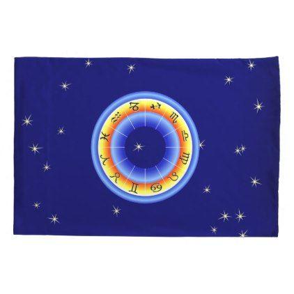 #Zodiac Wheel Pillowcase - #Pillowcases #Pillowcase #Home #Bed #Bedding #Living