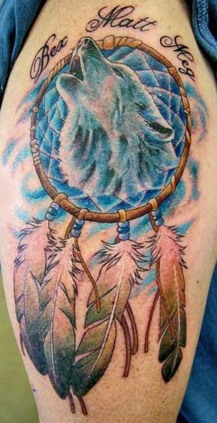 Wolf Tattoos Designs Art Pictures Images Photos A2