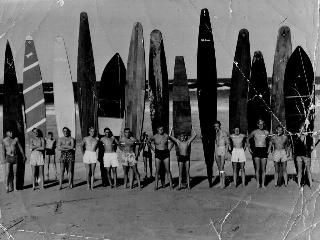 Queenscliffe SLSC members in 1948 included George Sommerville, Jack Prior, Bill Taylor, Tony Robertson, Mick Mills, Alan Williams, Tom Wardaugh, Barry Lunsdaine, Bob Evans, Dick Brand, Graeme Nicholls, John Fry and Ron Hansen.