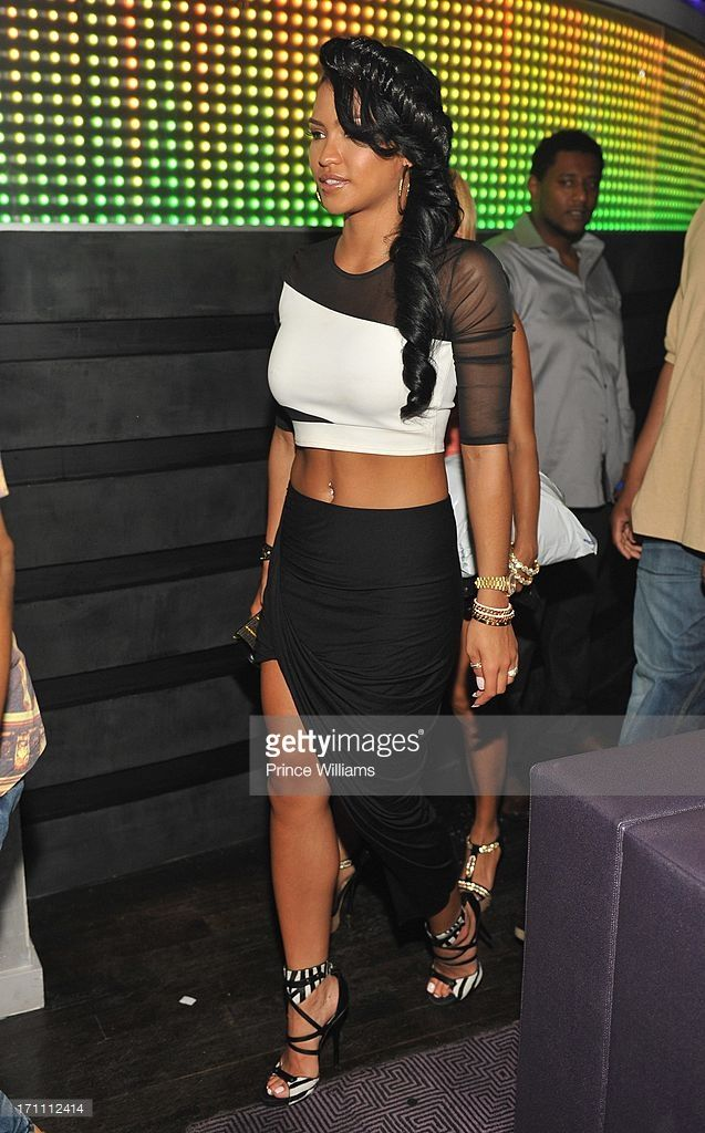 Cassie attends party hosted by Fabolous and Cassie at Prive on June 21, 2013 in Atlanta, Georgia.