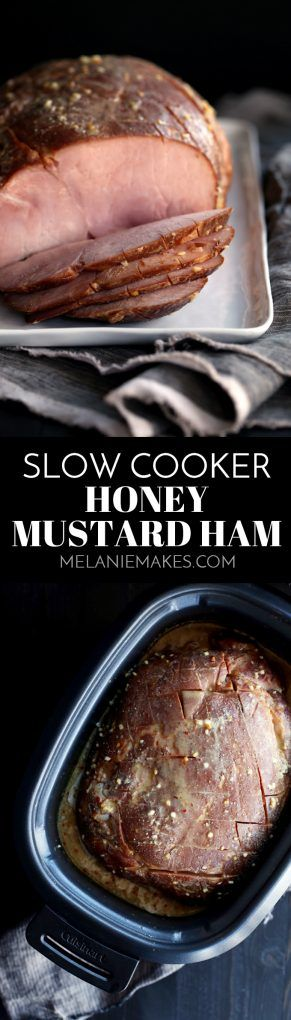 With just 15 minutes of prep work, my five ingredient Slow Cooker Honey Mustard Ham allows you to spend time with friends and family instead of tethered to your kitchen.