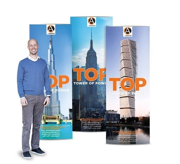 Köp Top tower of power display i One Stop Webshop från CA Andersson