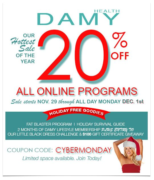79 best damy health ebooks cookbooks programs images on pinterest cyber monday is on here at damy health purchase any damy program between saturday fandeluxe Choice Image