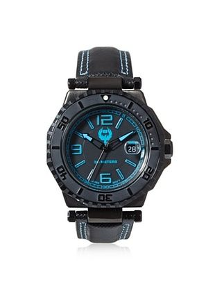83% OFF Brillier Men's 25-02 Hype Black Stainless Steel Watch