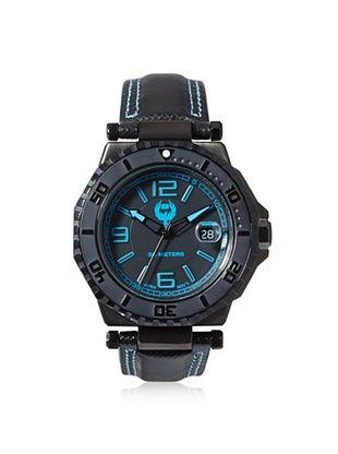 83% OFF Brillier Men's 25-02 Hype Black Stainless Steel Watch