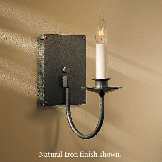Wall lights and sconces 132 pinterest hubbardton forge 20 3100 traditional square back candle wall sconce hub 20 mozeypictures Images