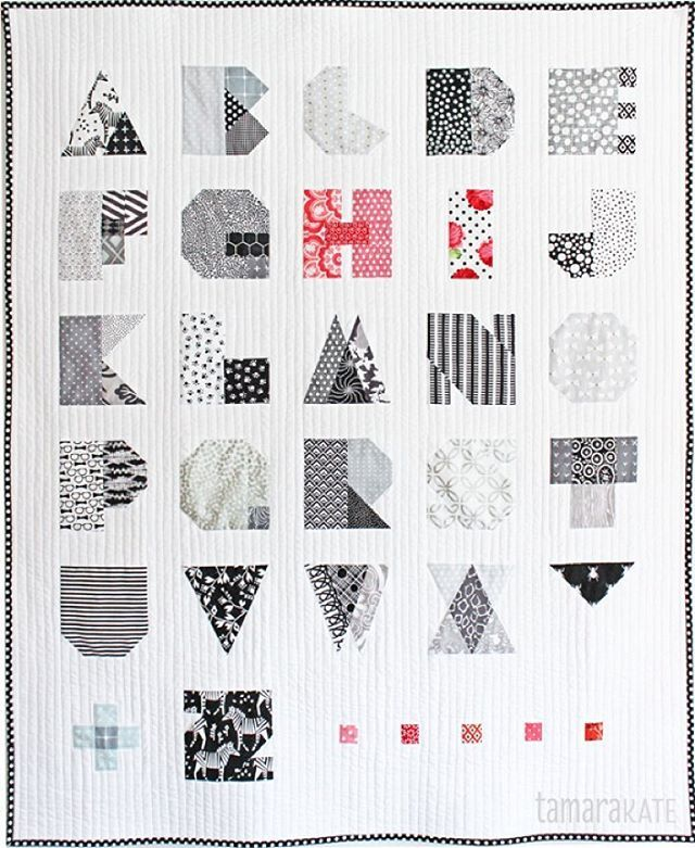 Alphabet Templates For Quilting : 17 Best images about Quilts - Spell It With Moda / Alphabets on Pinterest Quilt, Alphabet and ...