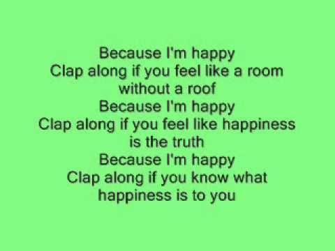 happy lyrics williams