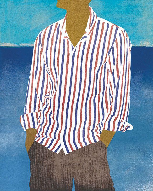 style and comfort: Beach bum - Amy DeVoogd Illustration