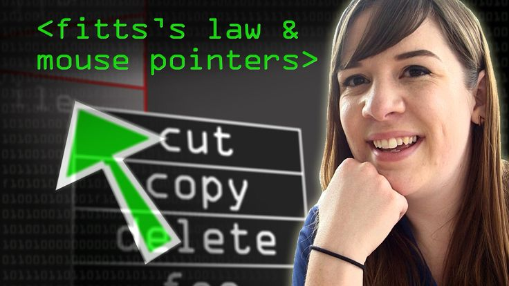 Mouse Pointers & Fitts's Law - Computerphile