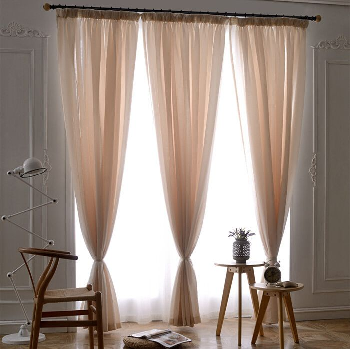 cheap curtain styles buy quality curtain line directly from china curtain width suppliers elegant solid yarn sheer curtains for bedroom flat window fabric
