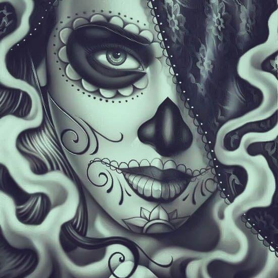 44+ Tatouage femme tete de mort ideas in 2021