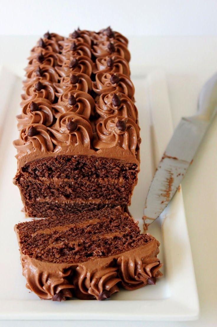 Chocolade-truffelcake