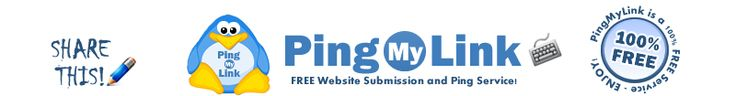 PingMyLink.com - FREE Website Submission and Ping Service