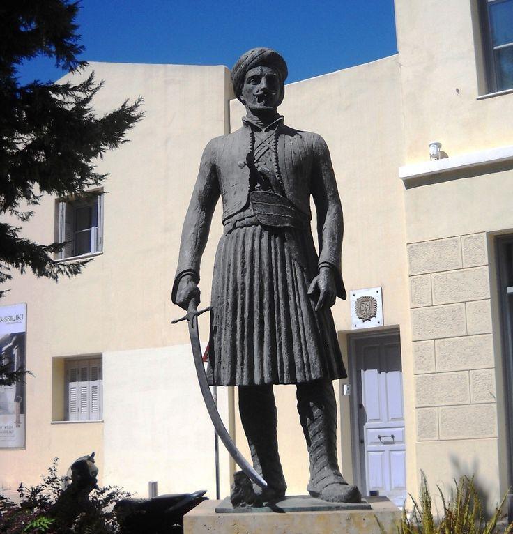 Socha hrdiny - Athény - Řecko