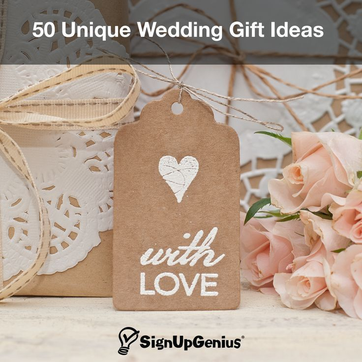 Wedding Gift Ideas. Give the perfect present for the bride and groom ...