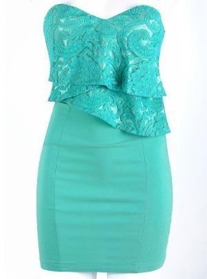 teal: Lace Tops, Dreams Closet, Aqua Blue, Favorite Colors, Teal Dresses, Shorts Dresses, The Dresses, Turquoise Dresses, Lace Dresses