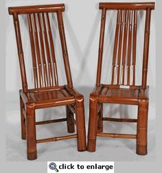 antique chinese bamboo furniture | Asian Furniture: Bamboo Chair from China