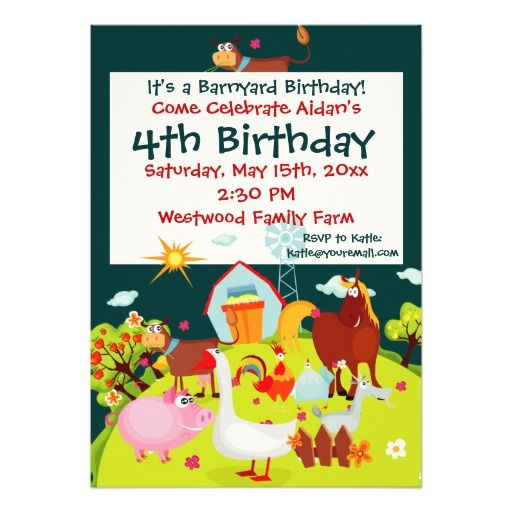 1000+ Images About Farm And Farm Animal Birthday Party
