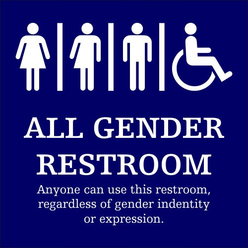 All Gender Restroom Sign Is This REALLY The Way We Want To Raise Neutral ToiletsGender Bathroom
